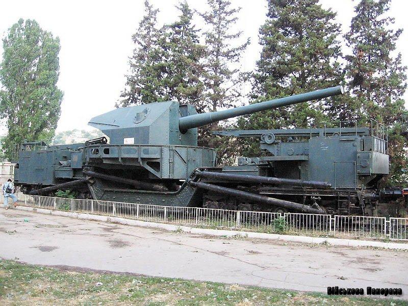 Залізнична артилерія Радянського Союзу