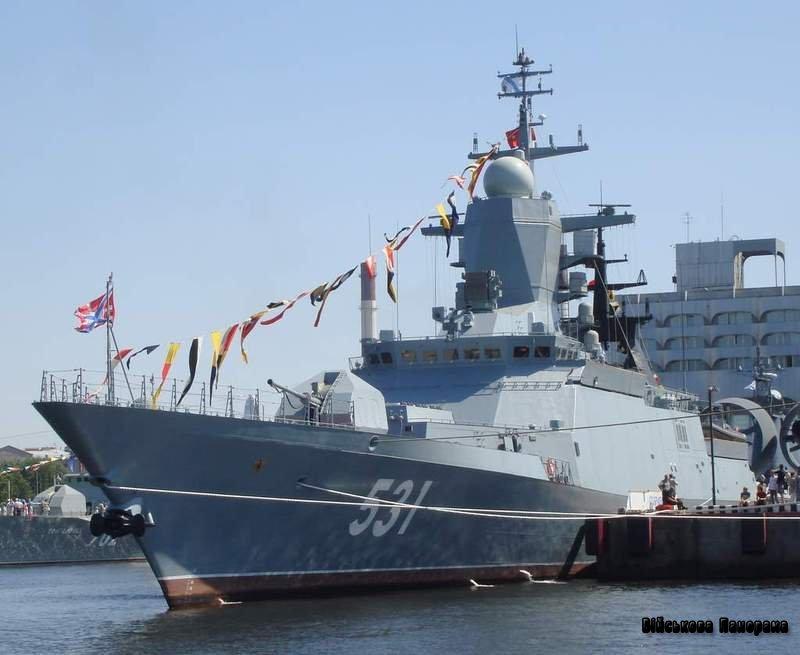 Багатоцільовий корвет «Кмітливий» введений до строю Балтійського флоту