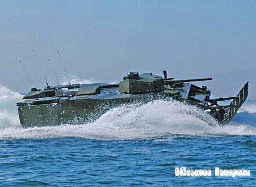 Експедиційна бойова машина (EFV) корпусу морської піхоти США