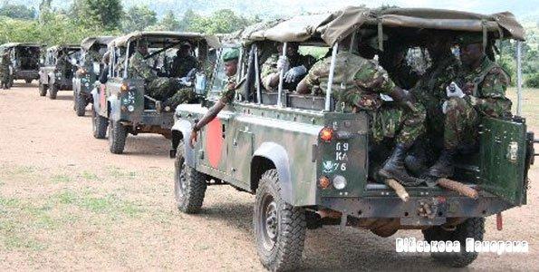 Кенійська армія проводить військову операцію на території Сомалі