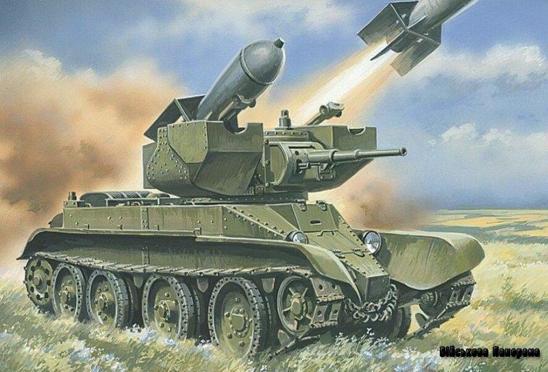 Незвичайні танки Росcіі і СРСР. Перші ракетні танки СРСР