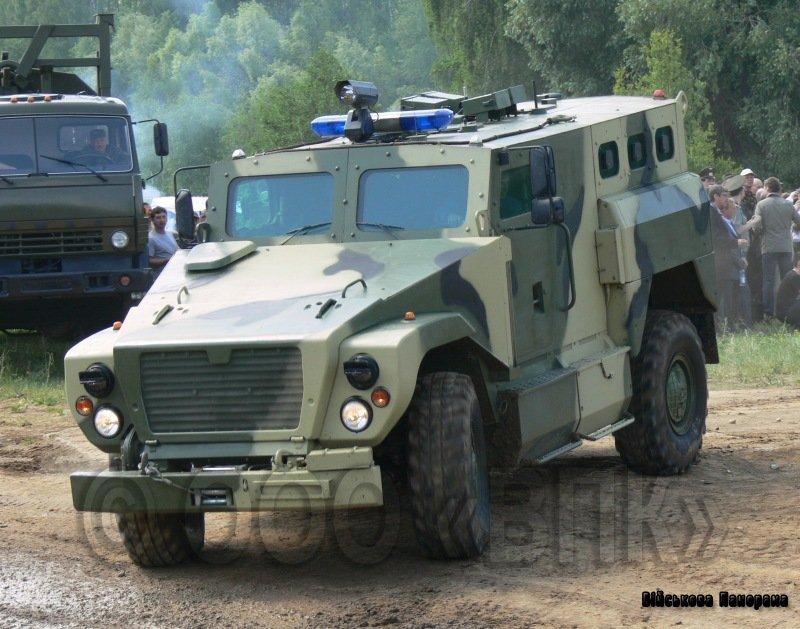 На INTERPOLITEX-2011 будуть представлені «Тигр-6А» і СПМ-3 «Ведмідь»