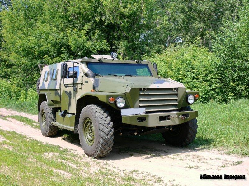 ВПК-3927 бронеавтомобіль «Вовк»