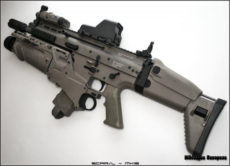 Штурмова гвинтівка FN SCAR