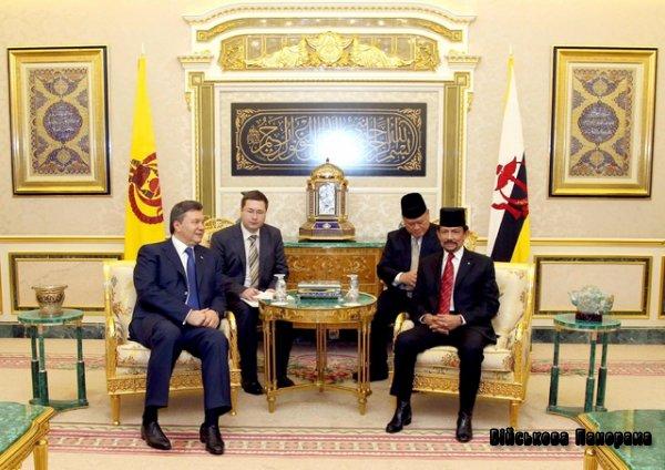Україна і Бруней розвиватимуть співробітництво в оборонній сфері