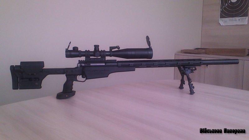 Снайперська гвинтівка Zbroyar Z-008 (Україна)