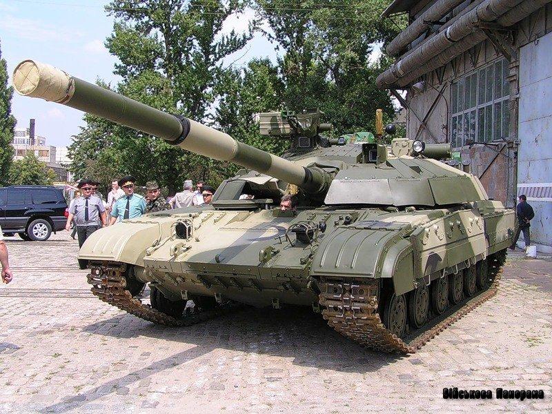 Українські військові отримають десять танків «Булат»