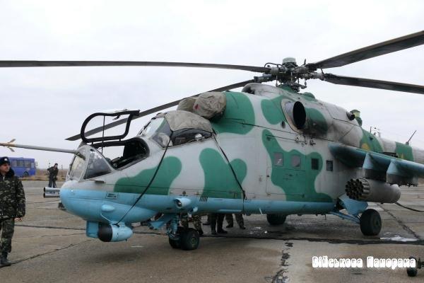 У Криму показали українську модернізацію Мі-24П