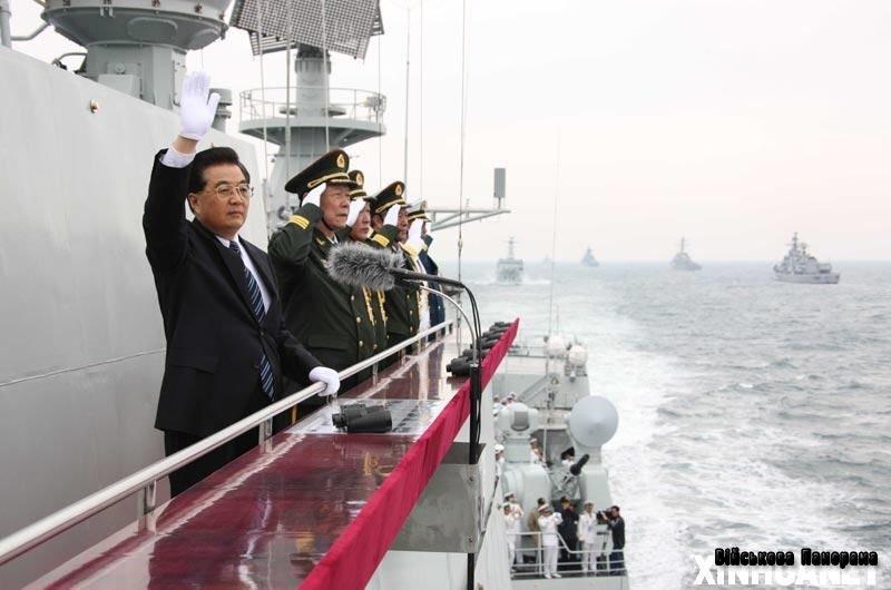 Армії Китаю наказали розпочати підготовку до війни на морі