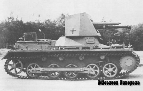 Протитанкові САУ Німеччини часів війни — Panzerjager I