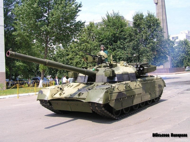 Основний бойовий танк Т-84-120 «Ятаган» («об'єкт 478Н»)
