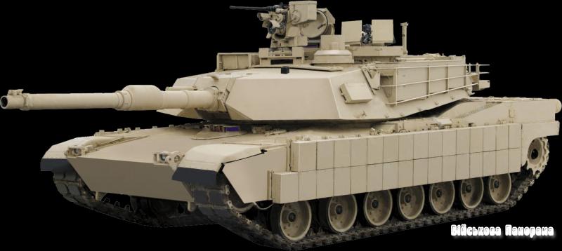 Модернізація ОБТ Абрамс М-1