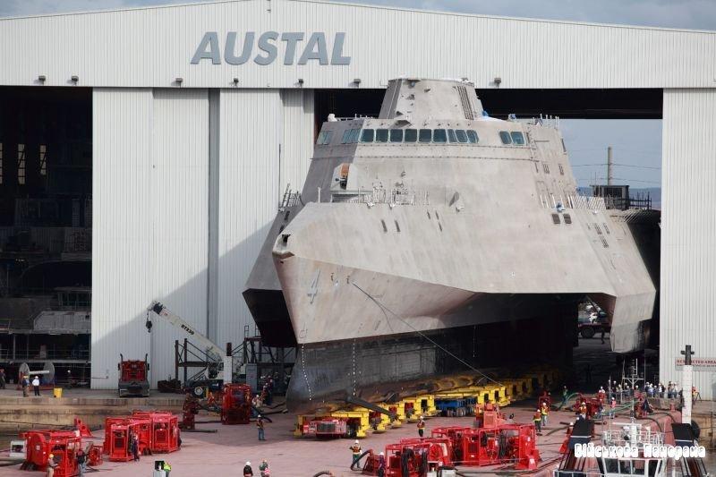 Американський корабель (USS) прибережної зони «Coronado»