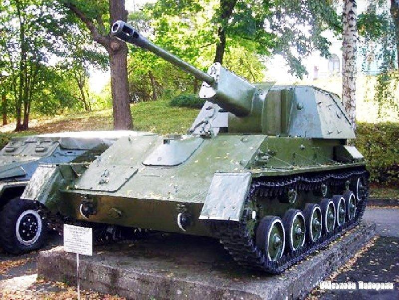 Радянські САУ часів війни (частина 1) – «Су-76»