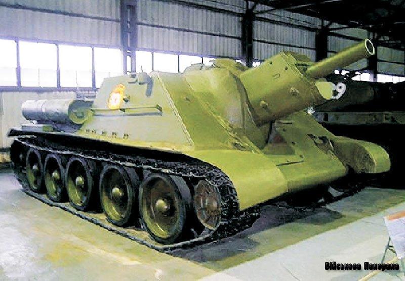 Радянські САУ часів війни (частина 2) – «Су-122»