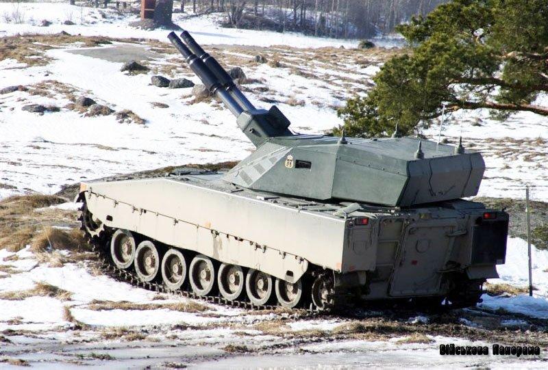 Самохідний міномет AMOS. Шведсько-фінська «двостволка»