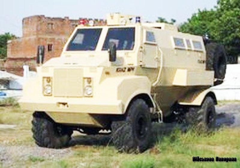 Український броньований «KRAZ MPV» для Індії