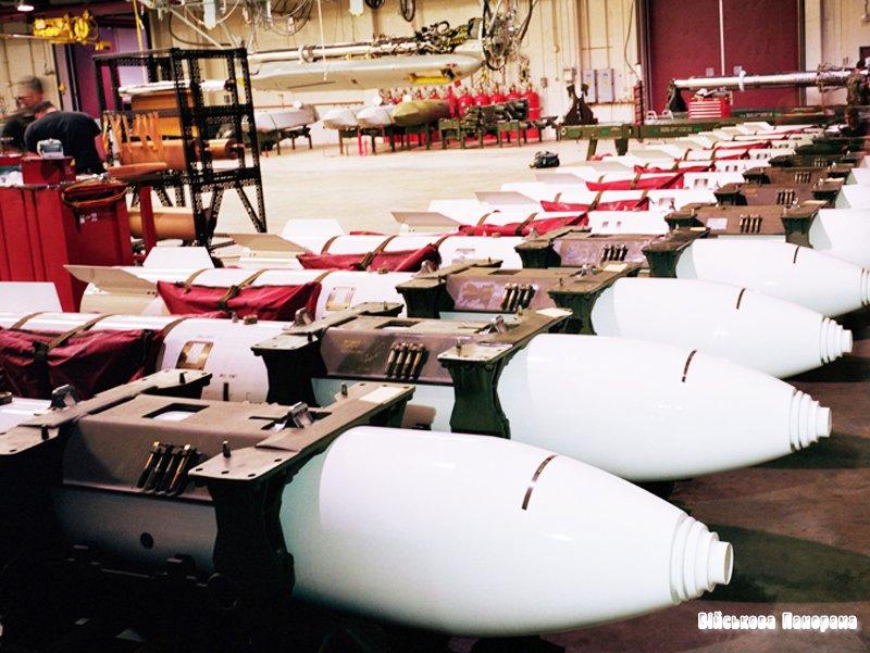 США витратять десять мільярдів доларів на ядерні бомби