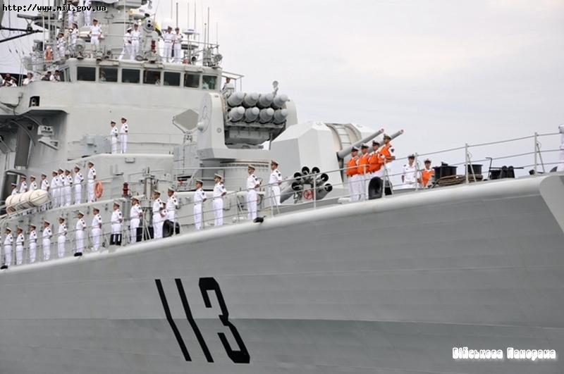 Корабель ВМФ Народно-визвольної Армії Китаю з візитом прибув до порту Севастополь