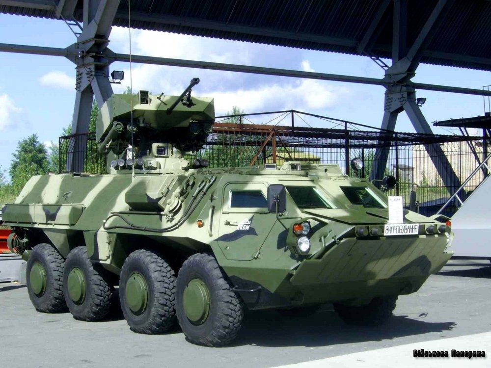Міністерство оборони і ДК «Укроборонпром» активно працюють у напрямку розроблення військової техніки, прийняття її на озброєння та організації серійного виробництва і ремонту