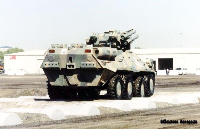 БТР-3У — броньований транспортер з БМ «Шквал»