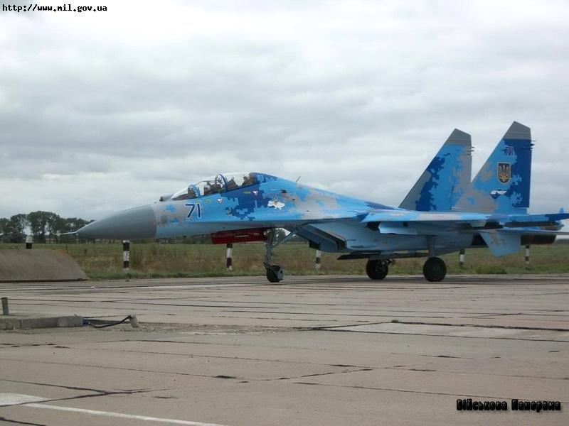 Авіапарк Повітряних Сил ЗС України поповнилися черговим відновленим винищувачем