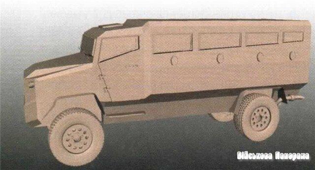 Новий MRAP від КрАЗу