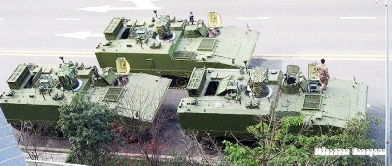 Новітня модифікація ZBD-04 (Type 04) — розвідувальна бойова машина БРМ (Китай)