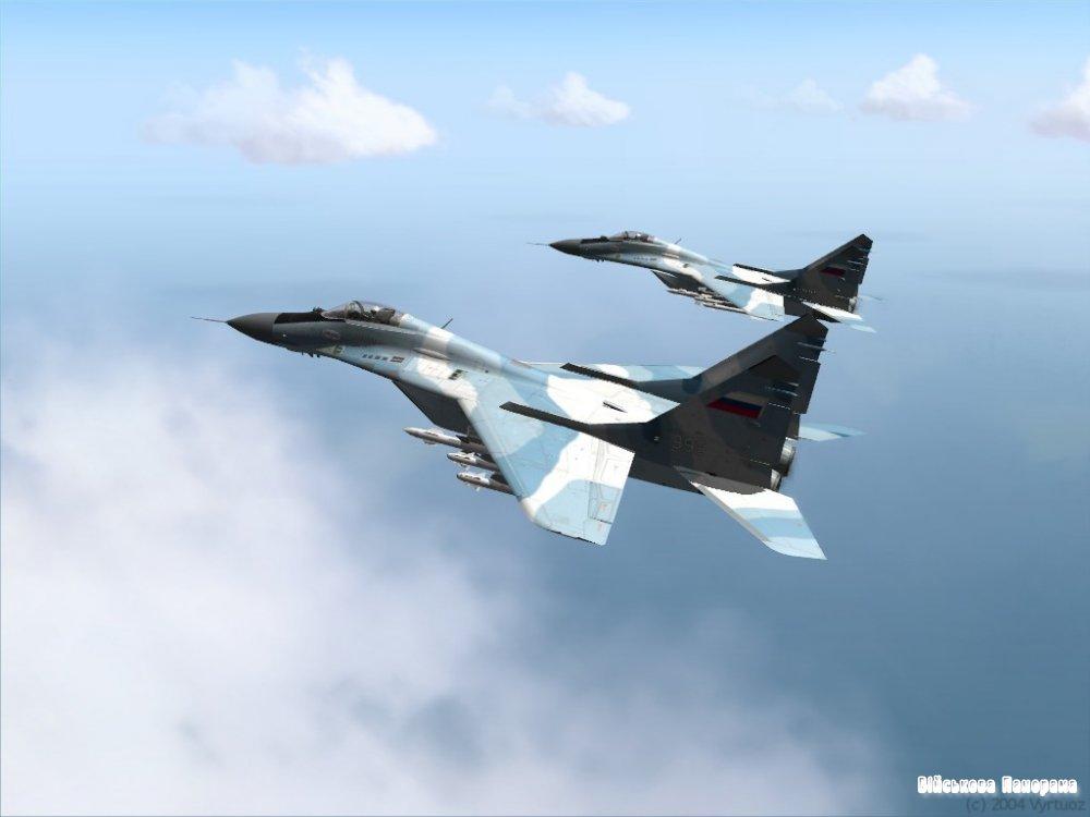 У Сибіру розбився МіГ-29