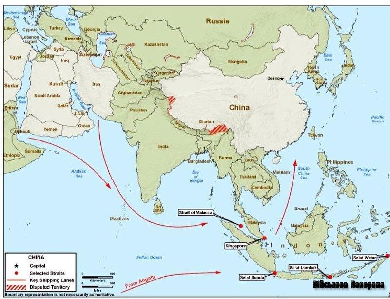 Військово-морська міць Китаю