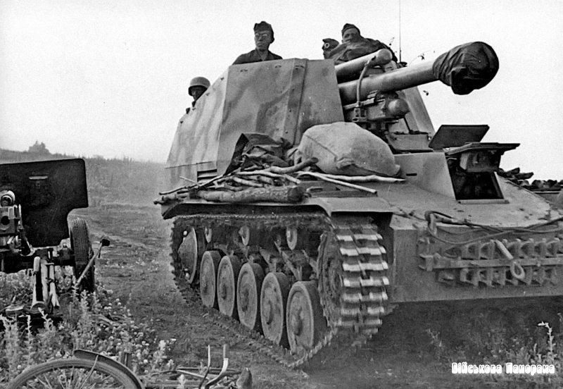 Бронетанкова техніка Німеччини у Другій світовій війні. Самохідна установка Wespe Sd. Kfz. 124
