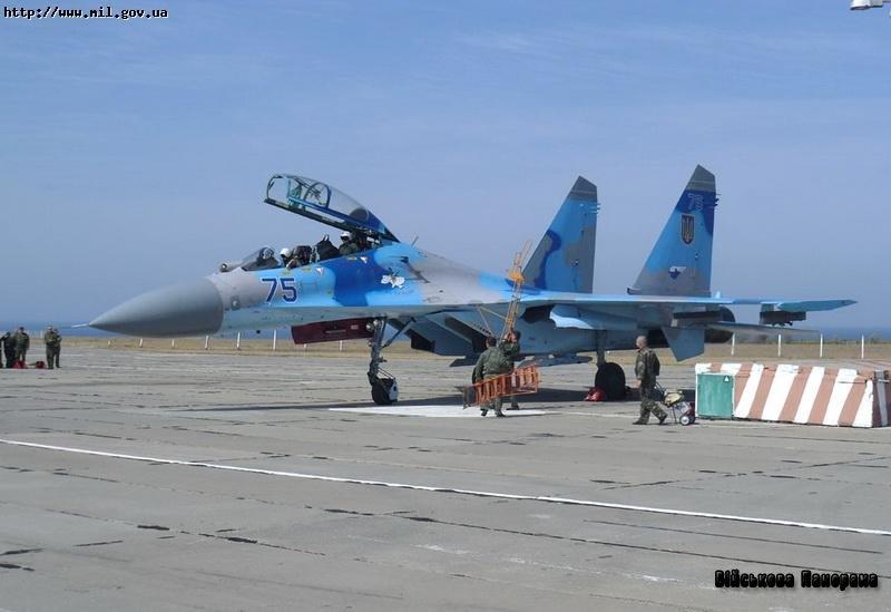 У Криму розпочався льотно-методичний збір винищувальної авіації Повітряних Сил ЗСУ