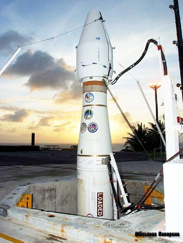 Позаатмосферний комплекс знищення балістичних ракет EKV