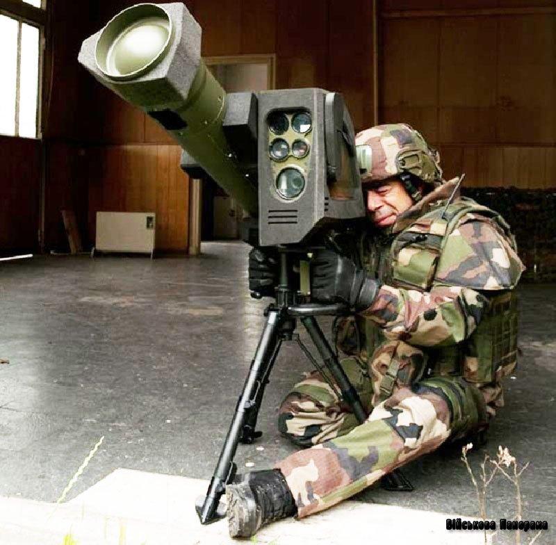 Французький перспективний ПТРК «Missile Moyenne Portee»