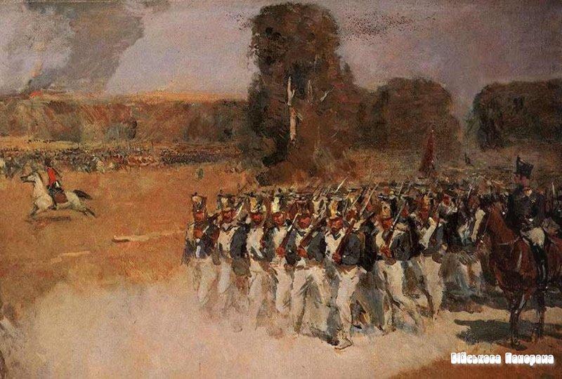 200 років з дня Бородінської битви, Бородінський бій в полотнах художників