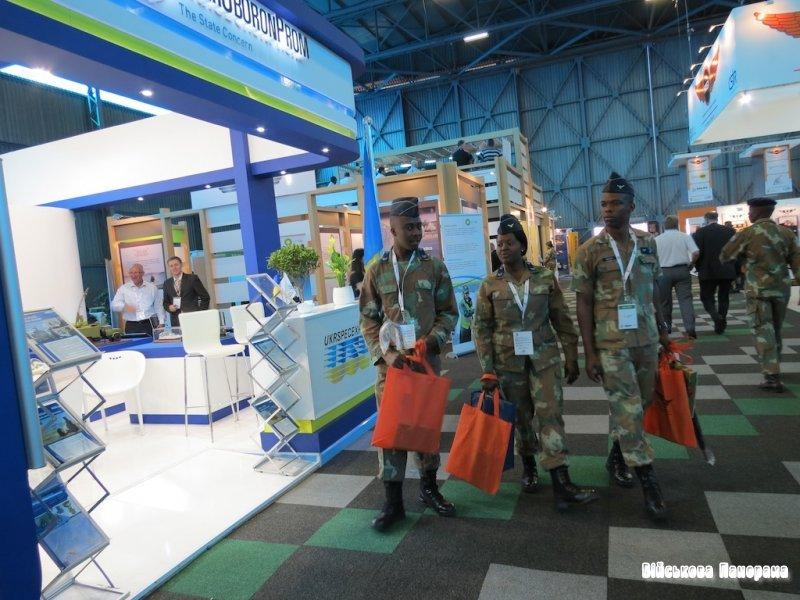 ДК «Укроборонпром» і ДК «Укрспецекспорт» 19-23 вересня беруть участь у міжнародній виставці «AFRICA AEROSPACE & DEFENSE 2012»