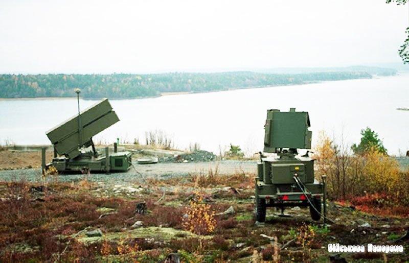 NASAMS — мобільний ЗРК норвезького виробництва з ракетами «AMRAAM»
