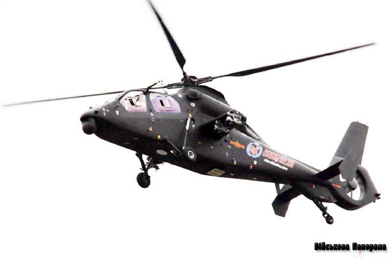 Нові фотографії китайського бойового вертольота Z-19