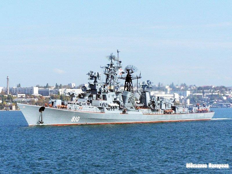 Кораблі ВМФ Росії встали на бойове чергування у сирійському порту