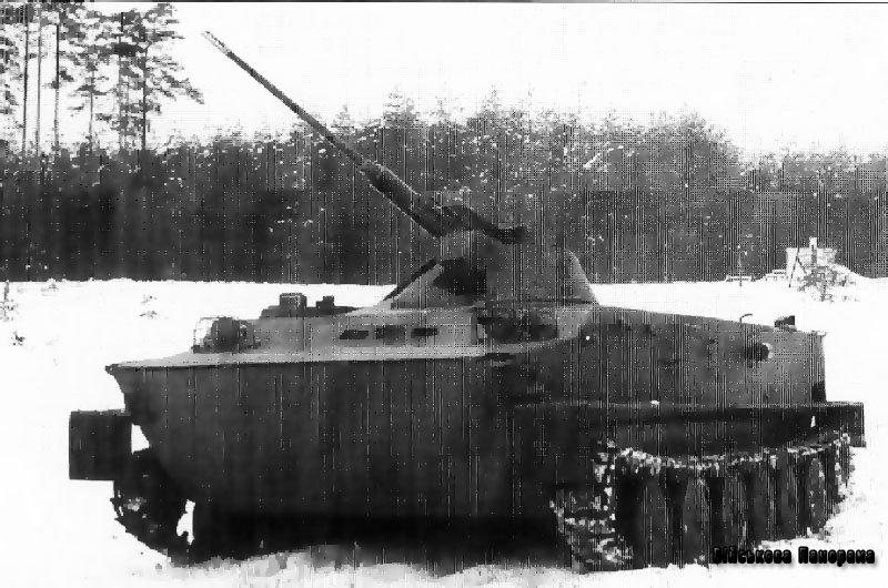 Чехословацька скорострільна гармата для БМП VK.30 (VK.28)