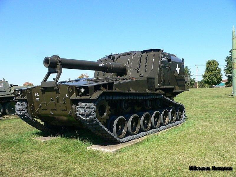 Атомна американська самохідна гармата — прототип Т-162 (1950 рр.)