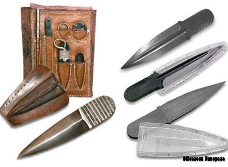 Холодна зброя: пластмасові ножі