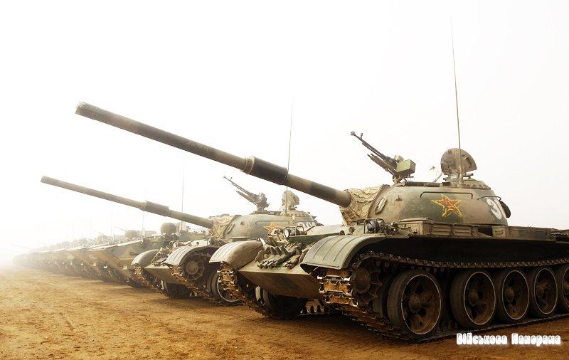 Клон Т-54 був модернізований китайцями за допомогою російських технологій