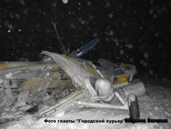 Український Мі-8 впав одразу після зльоту