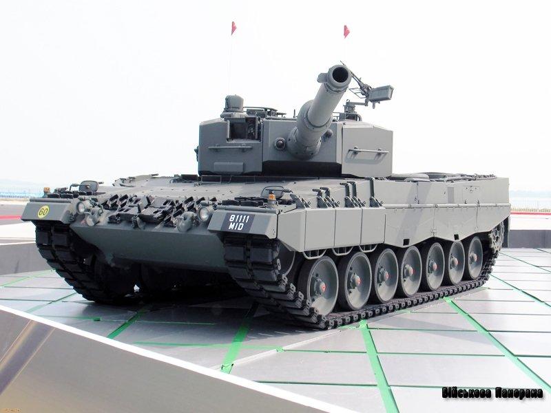 Німецькі танки Leopard 2 отримають нові системи спостереження