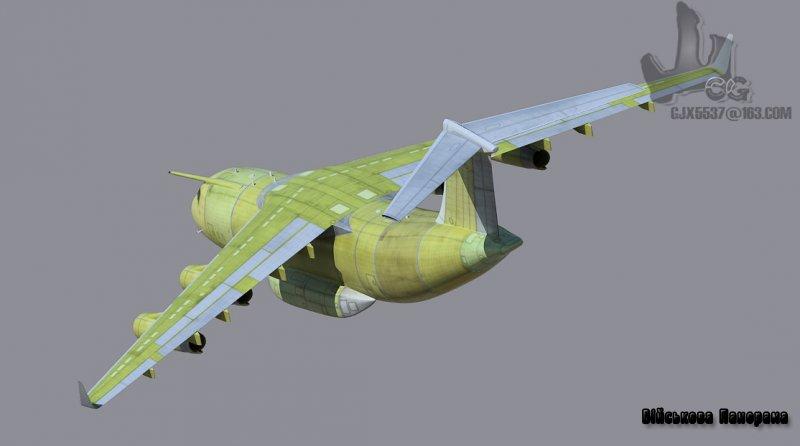 Китайський важкий транспортний літак «став на крило»