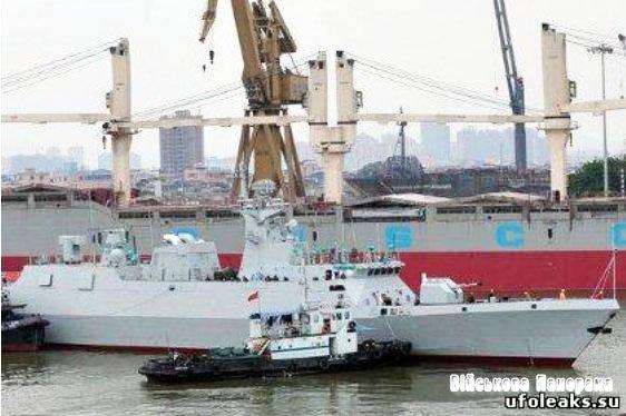 ВМС Китаю отримали новий фрегат-невидимку