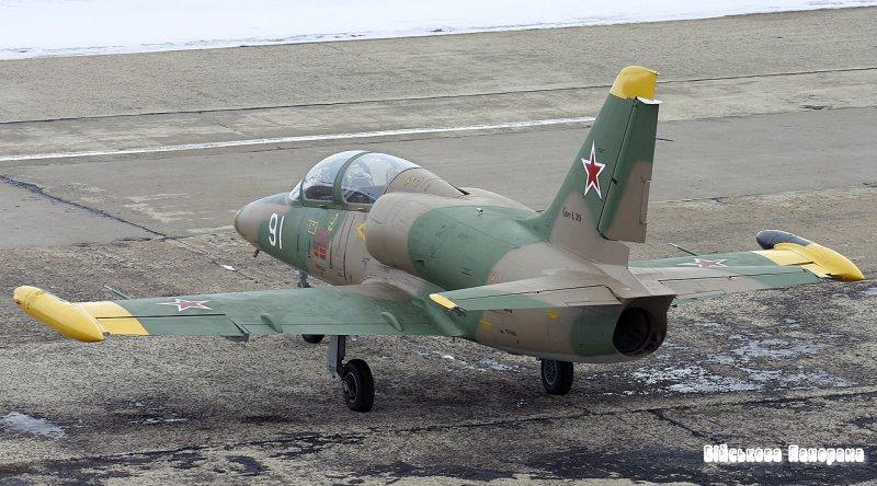 Військові авіатори Прикарпаття отримали два відремонтованих літаки Л-39