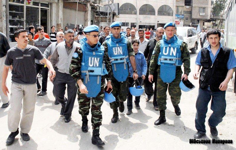 ООН готує миротворців у Сирію