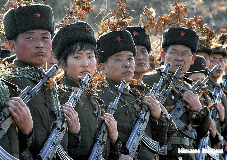 «Військова машина» Північної Кореї у фотографіях